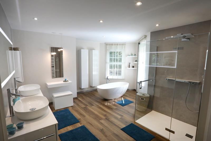Rénovation complète de salle de bains
