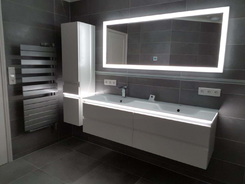 Rénovation de trois salles de bains